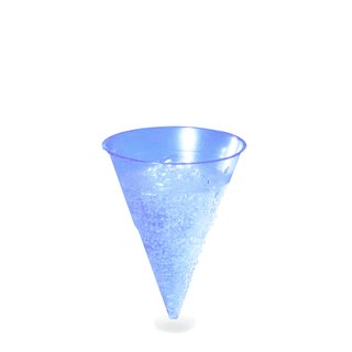 5000 Wasserbecher BLUE CONE 115ml -PP- (Ø 70mm)