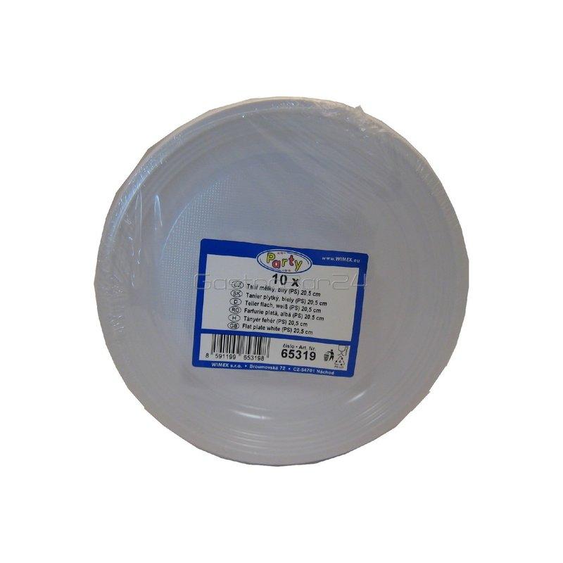 Teller flach, weiß (PS) Ø 20,5 cm, 11,17
