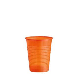 1500 Trinkbecher orange 0,18 l -PS- (Ø 70 mm)