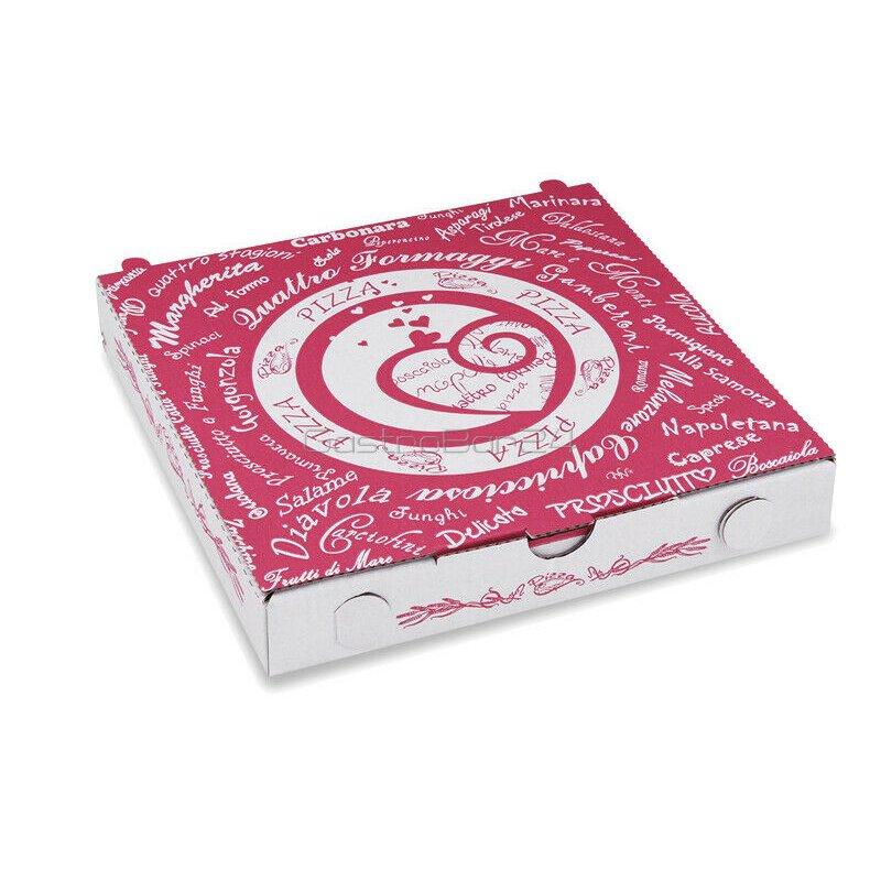 pizzakarton aus mikrowellpappe 24 x 24 x 3 cm 12 15. Black Bedroom Furniture Sets. Home Design Ideas
