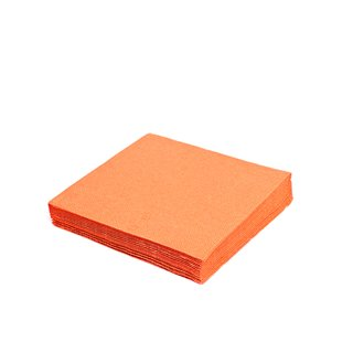 2000 Servietten 2-lagig, 24 x 24 cm orange