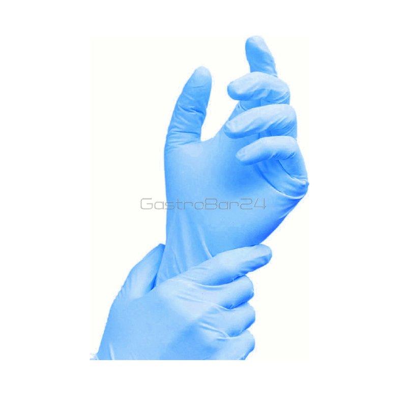 nitril handschuhe blau ungepudert gr e xl 45 17. Black Bedroom Furniture Sets. Home Design Ideas